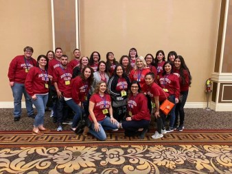 BC Radiologic Technology students attend a nationwide conference in Los Angeles.