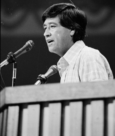 Cesar Chavez Speaking