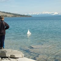 PEN TO PAPER: Lakeside