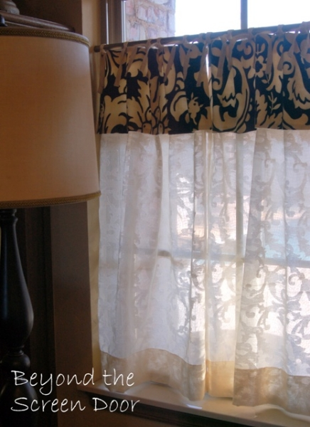 Gallery  Cafe Curtains  Sill Length Panels  Sonya
