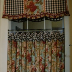 French Country Kitchen Curtains Home Equipment The Most Asked About Cafe Curtain & Valance - Sonya ...