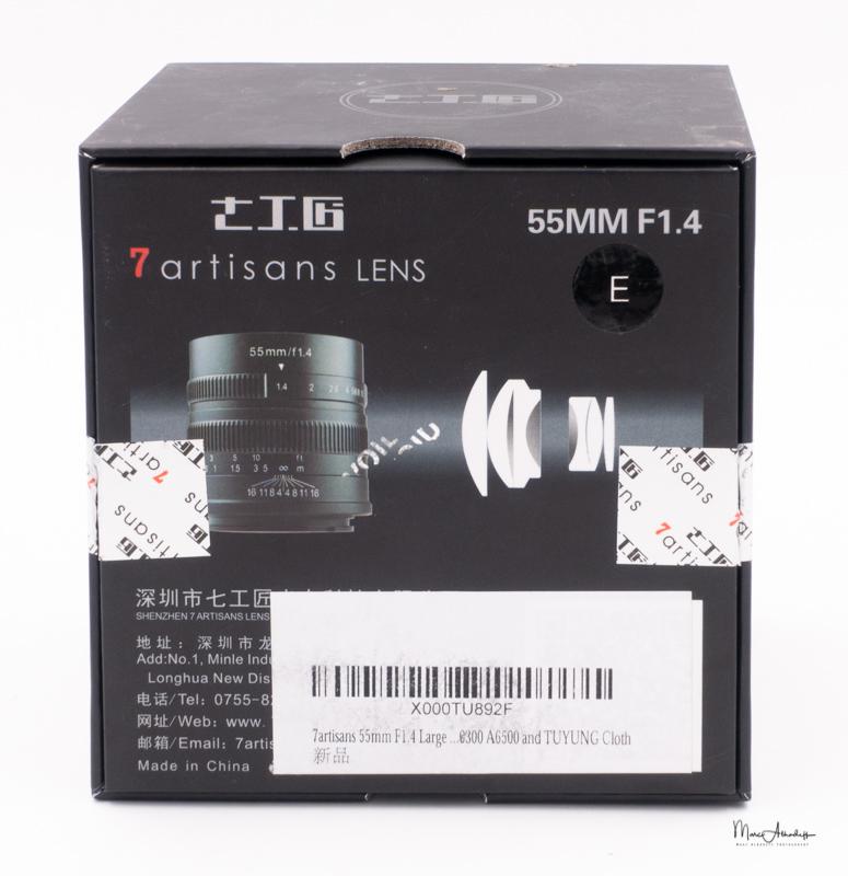 7artisans 55mm F1.4-8