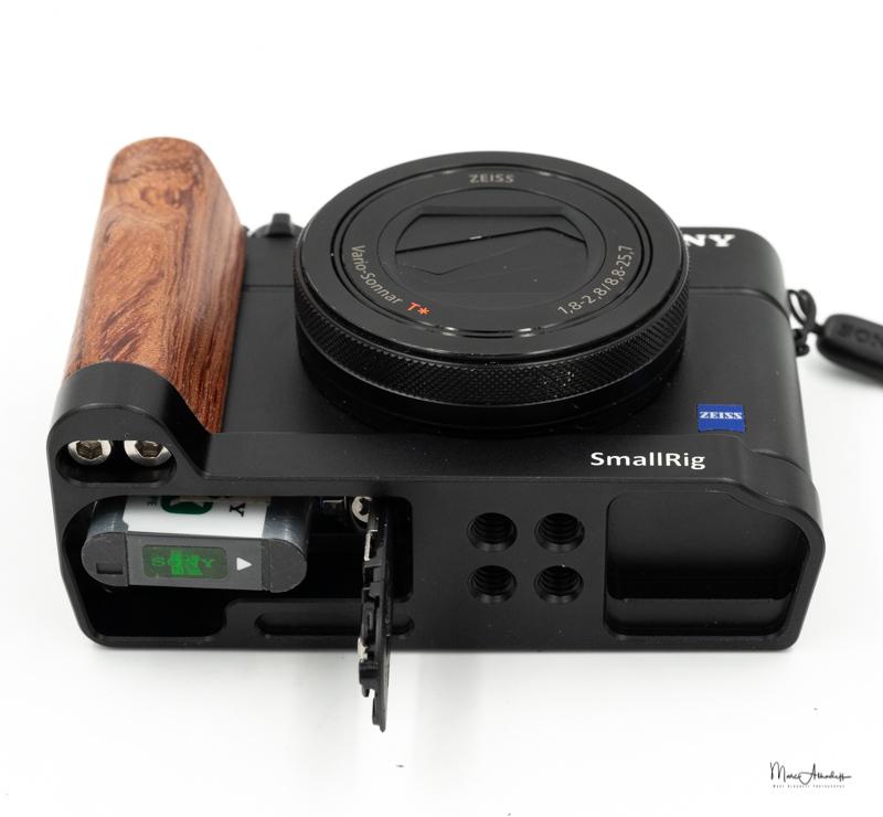 SmallRig L-shape wooden grip for Sony RX100 III IV V VA 2248-006