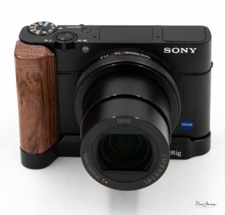SmallRig L-shape wooden grip for Sony RX100 III IV V VA 2248-011