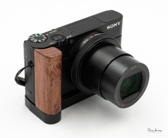 SmallRig L-shape wooden grip for Sony RX100 III IV V VA 2248-012