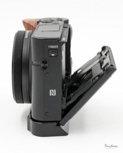 SmallRig L-shape wooden grip for Sony RX100 III IV V VA 2248-017