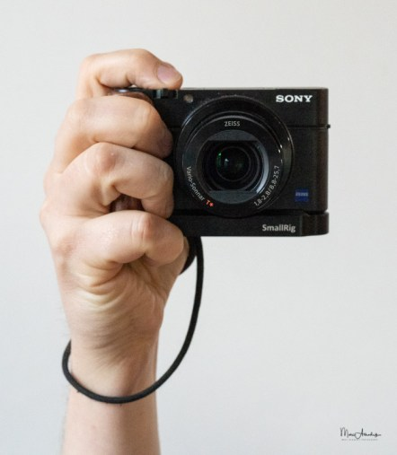 SmallRig L-shape wooden grip for Sony RX100 III IV V VA 2248-021