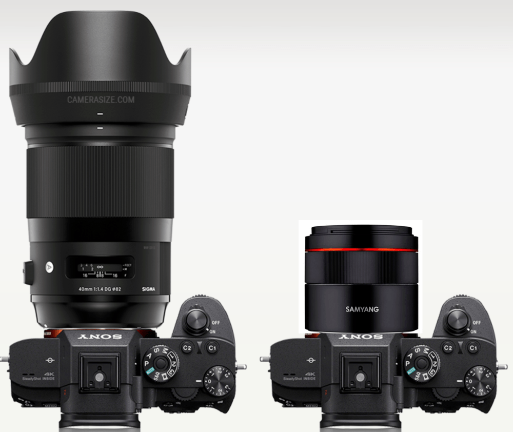 samyang 45mm vs Sigma 40mm