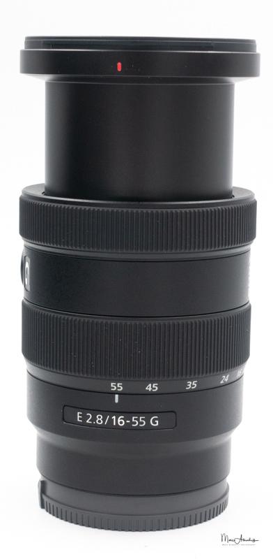 Sony E 16-55mm F2.8 G-16