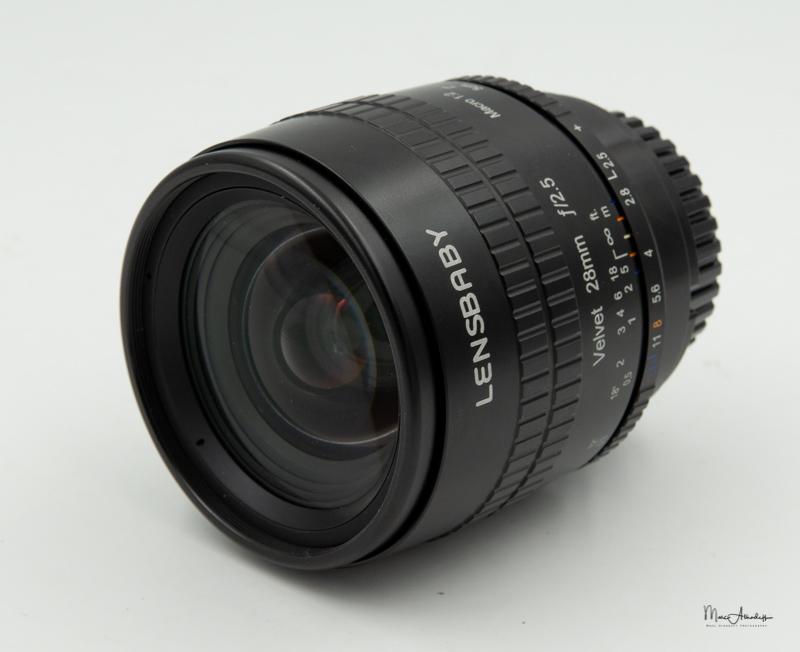 Lensbaby Velvet 28mm F2.5-3