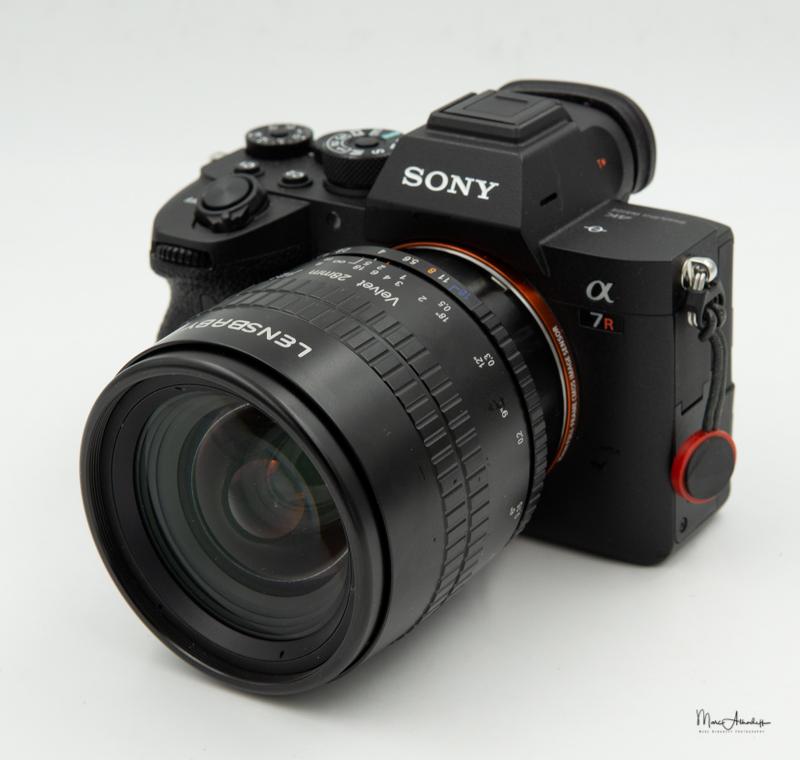 Lensbaby Velvet 28mm F2.5-5