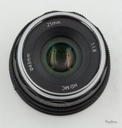 Pergear 25mm F1.8-4