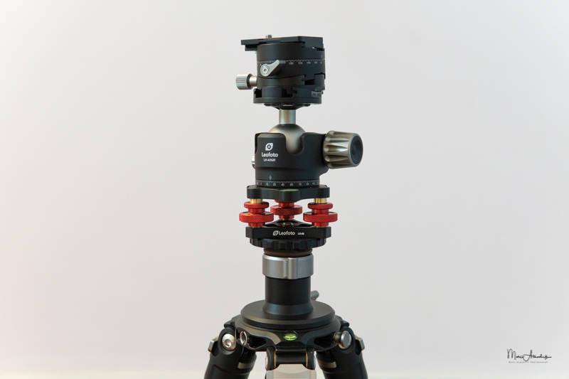 Leofoto LB-68 Leveling base-4
