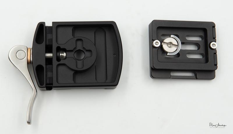 Leofoto LR-50 Lever quick release clamp-3