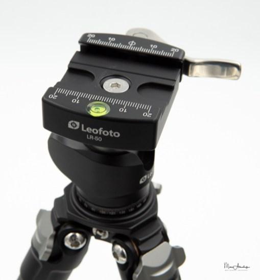Leofoto LR-50 Lever quick release clamp-6