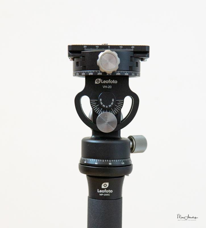 Leofoto VH-20 Monopod Head-9