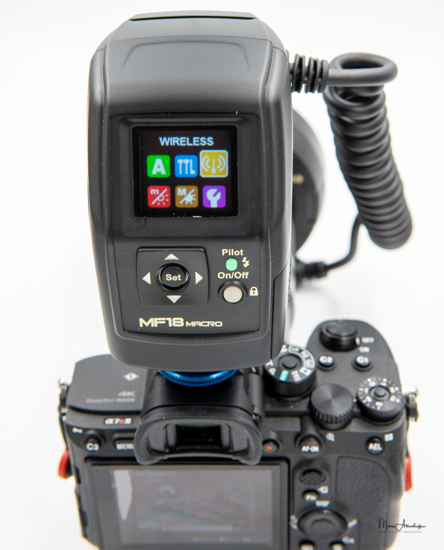 Nissin MF-18 Macro flash-5