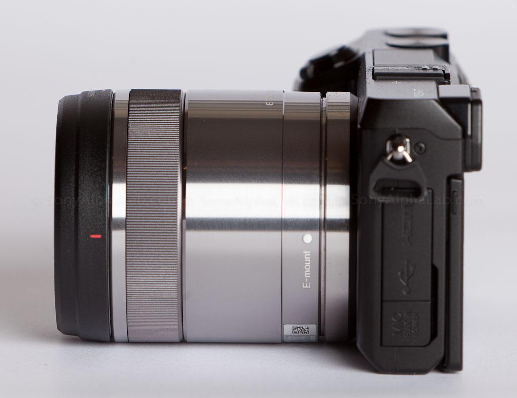 Nex-7 w/ Sony 30mm f/3.5 Macro Lens - Left Side
