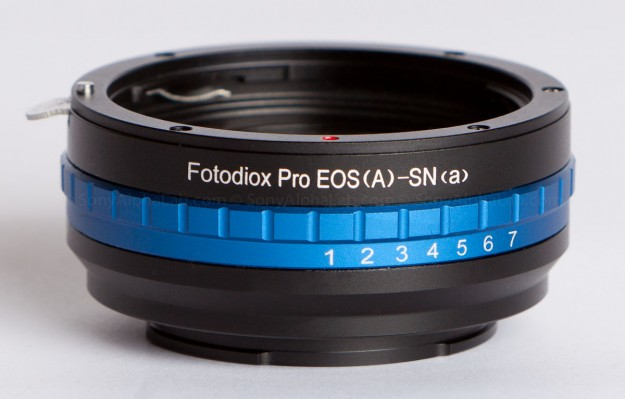 Fotodiox Pro - Canon Lens EF to Sony E-Mount