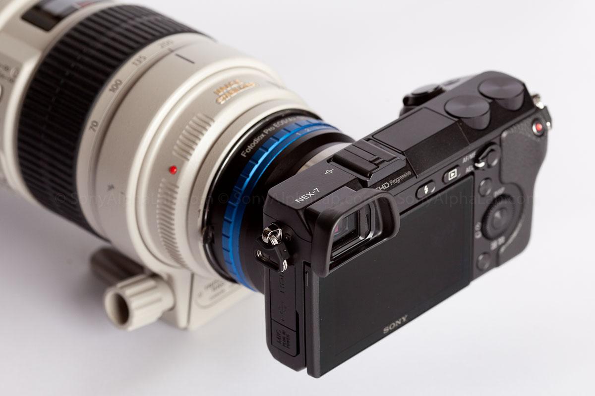 Nex-7 w/ Canon EF 70-200mm f/2.8 L IS Lens