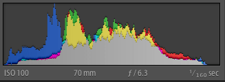 Lightroom Histogram