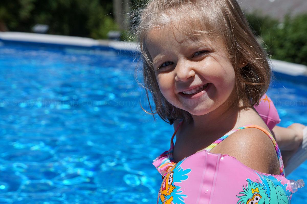 Pool Side - Nex-F3 w/ 18-55mm kit lens @ 55mm, f/6.3 1/1250sec, ISO 200