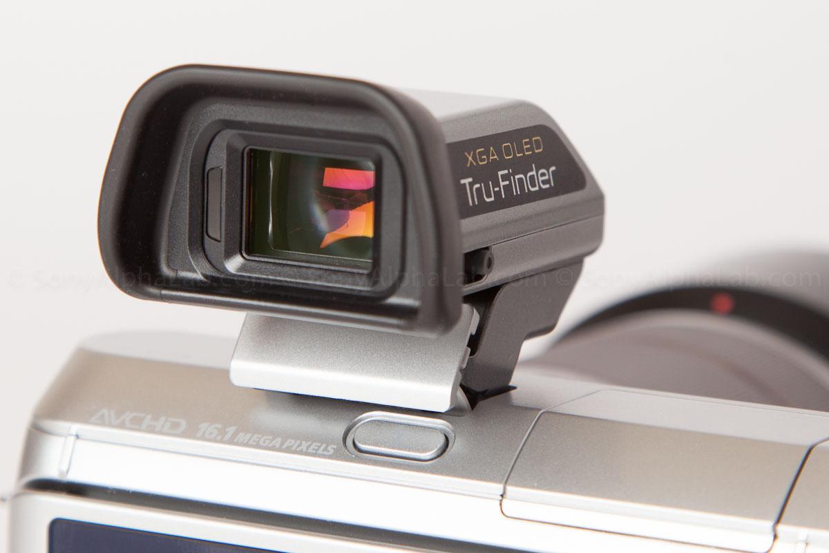 Sony - FDA-EV1S - XGA OLED Tru-Finder Electronic Viewfinder
