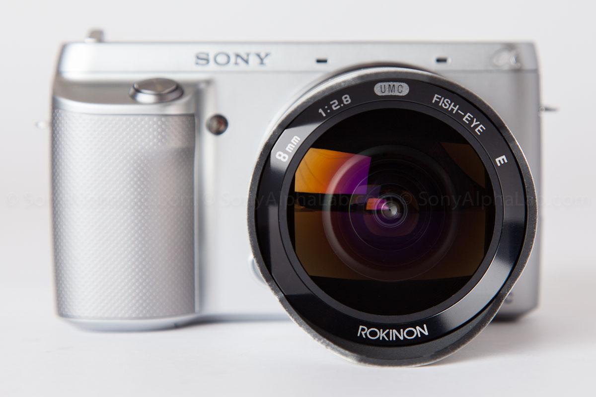 Nex-F3 w/ Rokinon 8mm f/2.8 UMC Lens