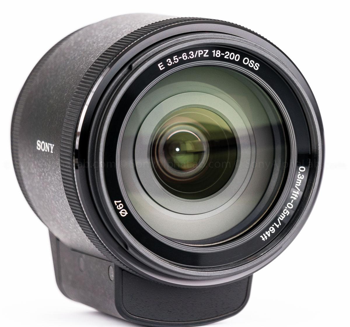 Sony 18-200mm f/3.5-6.3 PZ OSS E-mount Lens