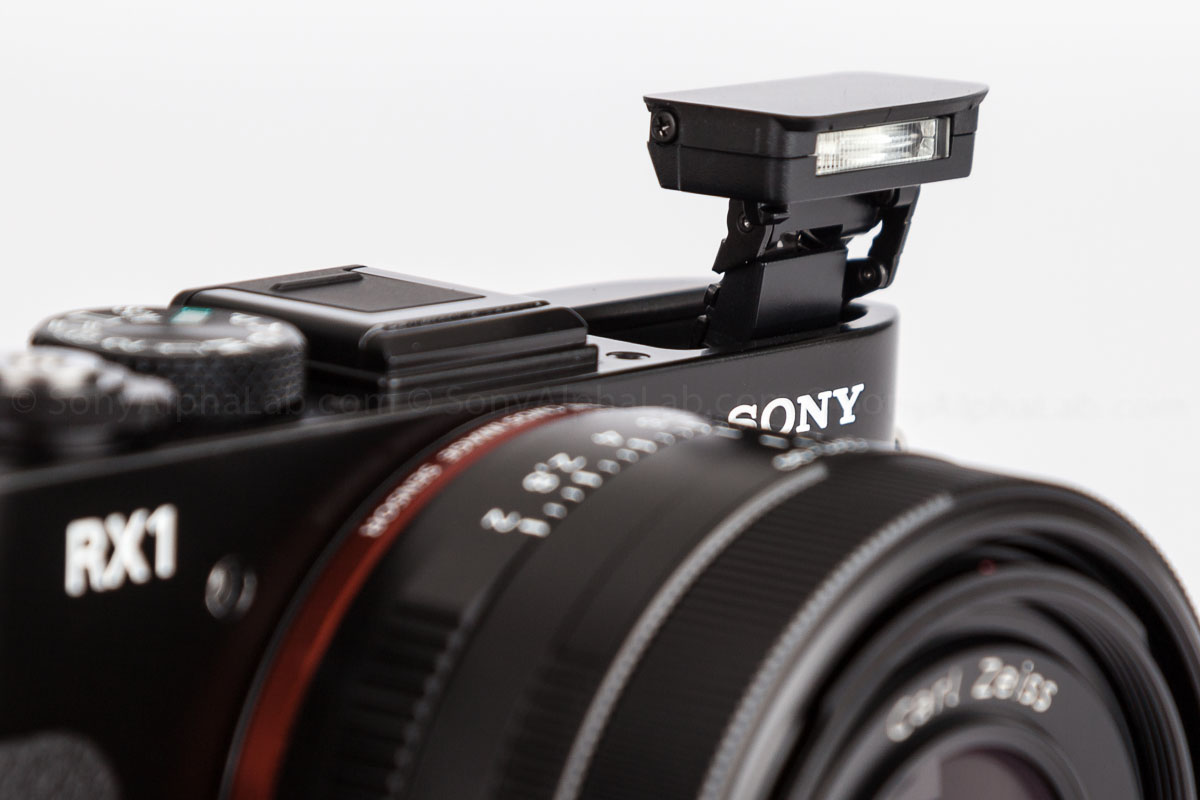 Sony RX1 - Flash Up