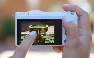 SOny A5100 - touch to focus