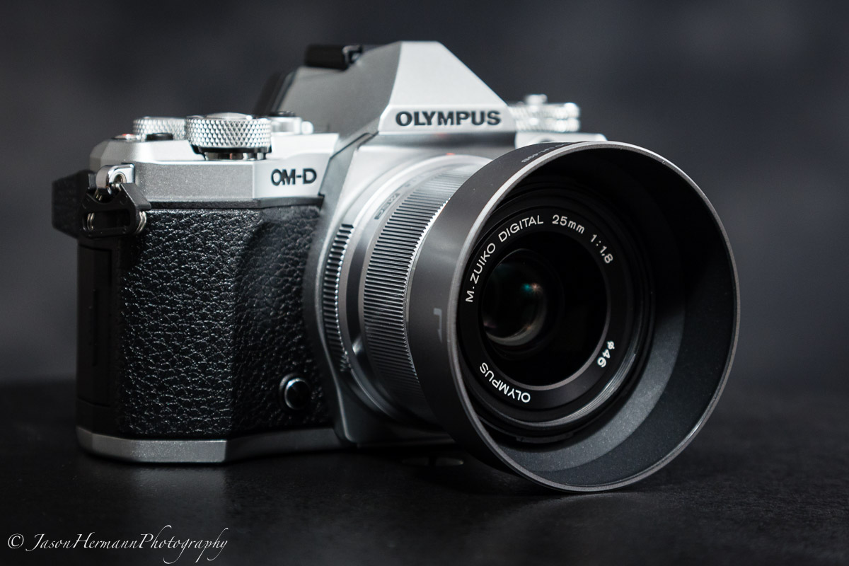 Olympus OM-D E-M5 Mark II Mirrorless Camera w/ 25mm f/1.8 Lens