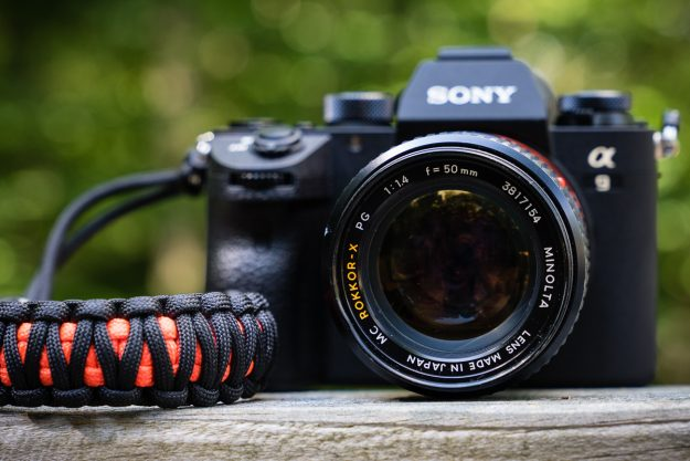 Sony A9 and Minolta 50mm f/1.4 Rokkor-X Lens