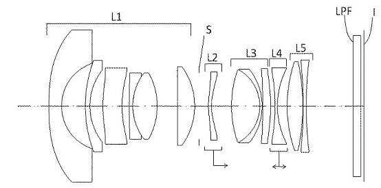 Sigma Patents: 16mm, 18mm, 20mm, 24mm, 28mm, 34mm Lenses