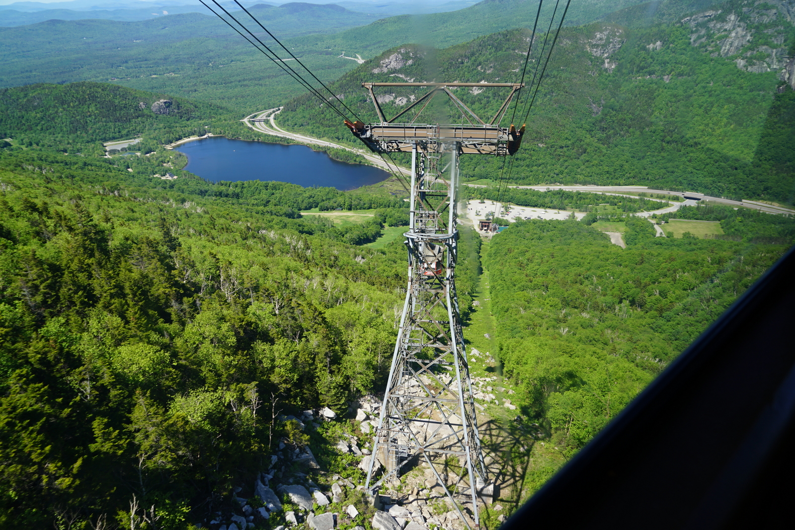 Cannon Aerial Tramway Franconia Notch State Park New