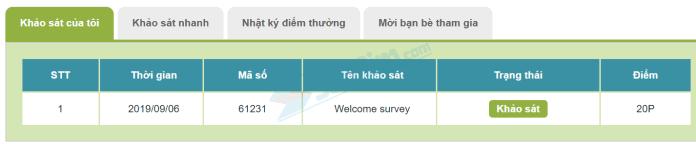 Cách làm khảo sát kiếm tiền online trên InfoQ - 1