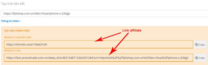 Cách tạo link affiliate trên AccessTrade - Ảnh 3