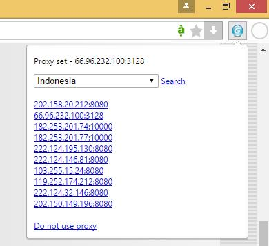 Proxy indonesia