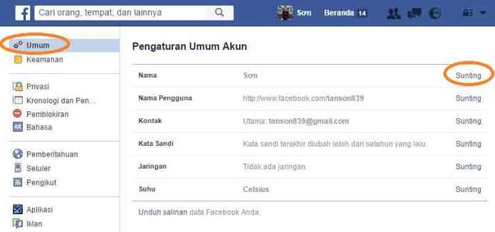 doi ten facebook