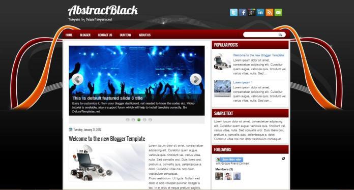 top 25 template blogspot mien phi tot nhat - Template