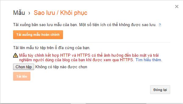 cach thay doi giao dien cho blogspot - 7