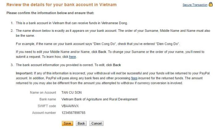 Rut tien tu PayPal ve tai khoan Ngan hang Viet Nam - Anh 3
