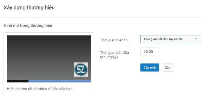 Cach chen logo vao video Youtube - Anh 3