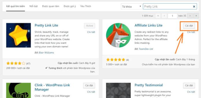 Cách cài đặt Plugin cho WordPress - 3