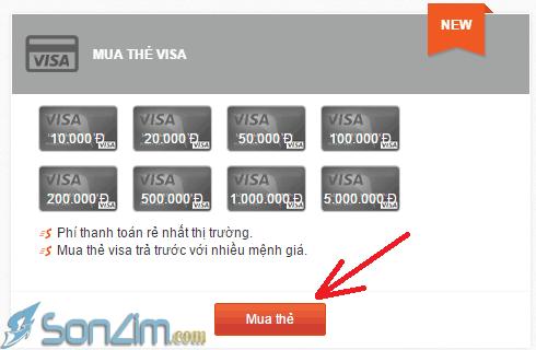 Hướng dẫn mua thẻ Visa ảo để verify PayPal - 2