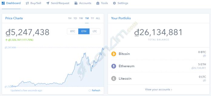 Cách tạo và sử dụng ví Coinbase để cất giữ Bitcoin, Ethereum và Litecoin - 4