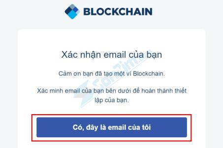 Xác minh Địa chỉ Email cho ví Blockchain - 2