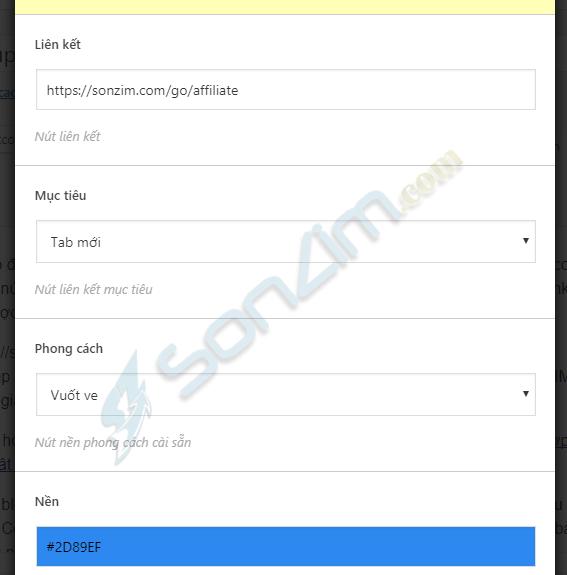Cách tạo nút lấy mã giảm giá chứa link Affiliate đơn giản cho WordPress - 3