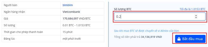 Cách mua Coin trên sàn Aliniex - 3