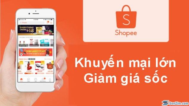 Khuyến mại và giảm giá tại Shopee